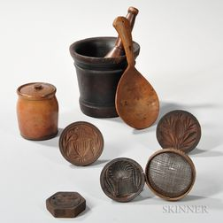 Eight 19th Century Kitchen Items