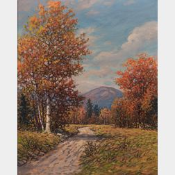American School, 20th Century      Autumn Landscape