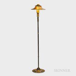 Walter Von Nessen (German/American, 1889-1943) Floor Lamp for The Miller Company