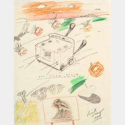 Dick Wray (American, b. 1933)    Art Deco Stove