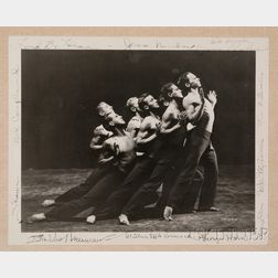 Shapiro Studios (American, 20th Century)      Ted Shawn and His Men Dancers, Jacob's Pillow