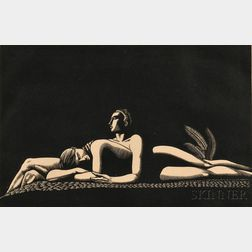 Rockwell Kent (American, 1882-1971)      The Lovers