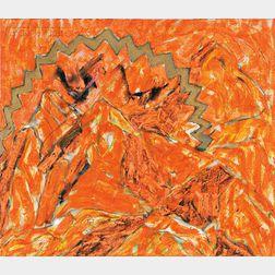 Michael Goldberg (American, 1924-2007)      Untitled