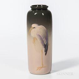 Leffler Eocean for Weller Pottery Stork Vase