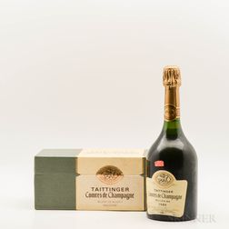 Taittinger Blanc de Blancs Comtes de Champagne 1989, 1 bottle (pc)