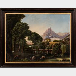 After Thomas Cole (American, 19th Century)      Dream of Arcadia