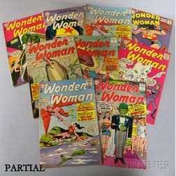 Approximately 100 Silver Age Wonder Woman