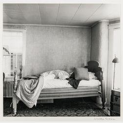 Walker Evans (American, 1903-1975)       Bedroom Interior, Enfield, New Hampshire