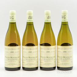 Michel Colin Deleger Puligny Montrachet La Truffiere 1995, 4 bottles