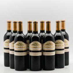 Chateau St. Jean Cabernet Sauvignon Cinq Cepages 1994, 9 bottles