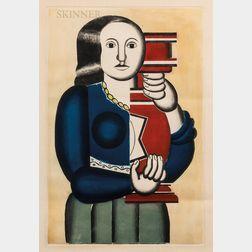 Jacques Villon (French, 1875-1963), After Fernand Léger (French, 1881-1955)      Femme a la cruche