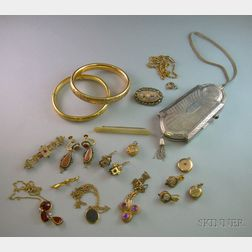 Assorted Victorian and Later Costume and Estate Jewelry