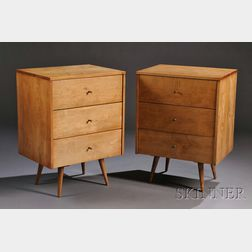 Pair of Paul McCobb for Planner Group Chests