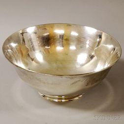 Arthur Stone Sterling Silver Revere-style Center Bowl