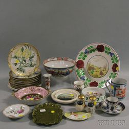 Group of Miscellaneous Ceramic Items