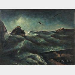 Henry E. Mattson (American, 1887-1971)      Deep Water