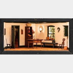"Don Buckley Pennsylvania ""Sophie's Room"" Shadow Box Diorama"
