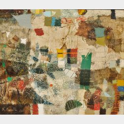 Kishio Murata (Japanese, 1910-1992)      Una Antigua Ciudad (Nara del Japon)