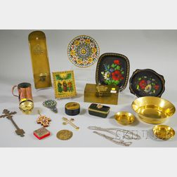 Lot of Assorted Russian Decorative Articles