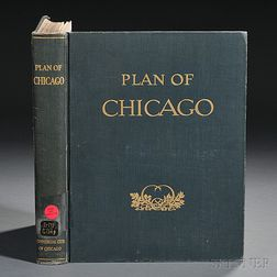 Burnham, Daniel (1846-1912) Plan of Chicago.