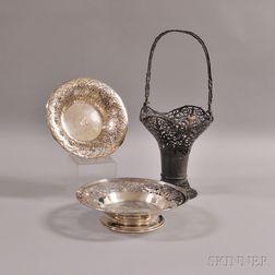 Three Sterling Silver Tableware Items