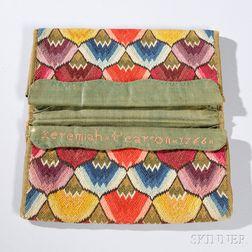 Flame-stitch Pocketbook