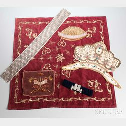 Five Judaic Textiles