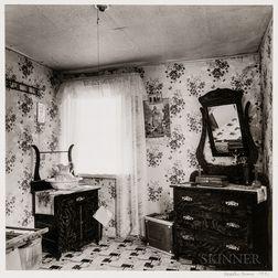 Walker Evans (American, 1903-1975)       Fisherman's Bedroom, Nova Scotia