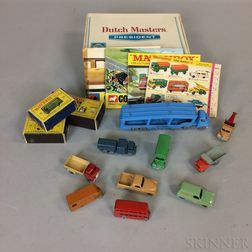 """Small Group of Lesney """"Matchbox"""" Cars and Trucks"""