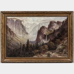 Harry Cassie Best (Canadian/American, 1863-1936)      Yosemite Valley