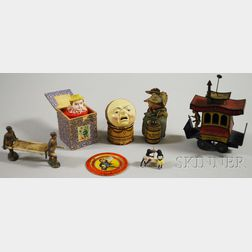 Seven Assorted Small of Children's Toys