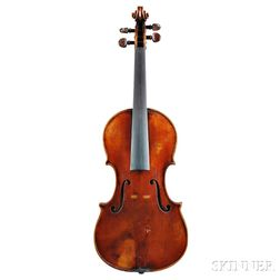 Italian Violin, Enrico Melegari, Turin, c. 1880