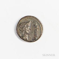 Roman Republic, Marc Antony as Imperator AR Denarius