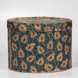 Large Oval Wallpaper Band Box