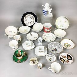 Group of German and Austrian Porcelain
