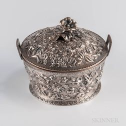S. Kirk & Son .917 Silver Covered Butter Dish