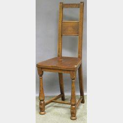 Barber Bros. Chair Co. Oak Desk Chair