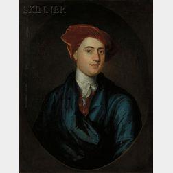 Joseph Blackburn (Anglo/American, c. 1700-1780)      Portrait of Colonel Benjamin Pollard (1696-1756).