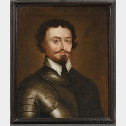 After Sir Anthony van Dyck (Flemish, 1599-1641)      Portrait of Thomas Wentworth, 1st Earl of Strafford