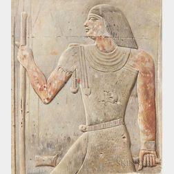 Joseph Lindon Smith (American, 1863-1950)      Tomb of Meruka