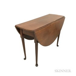 Queen Anne Cherry Drop-leaf Table