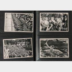 Forty-six German Cigarette Cards