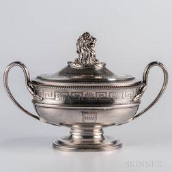 George III Sterling Silver Sauce Tureen
