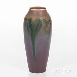 "Elizabeth ""Lisbeth"" Lincoln (1867-1957) for Rookwood Pottery Matte Glaze Vase"