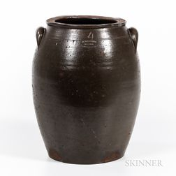 Four-gallon Stoneware Jar