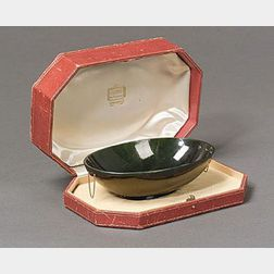 Art Deco Nephrite Bowl, Cartier