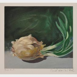 Paul Wonner (American, 1920-2008)      Onion