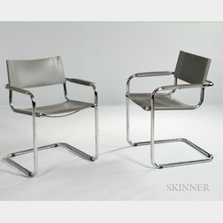 Pair of Armchairs Attributed to Matteo Grassi