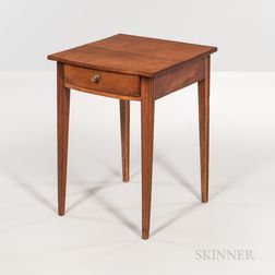 Federal Carved Cherry One-drawer Stand