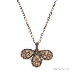 High-karat Gold and Diamond Necklace, Gurhan